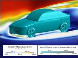 FSI耦合分析-1 CAE工程分析  HyperWorks 專業代理  瑞其科技